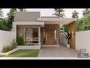Casa Térrea Estreita e Moderna - Projeto 358