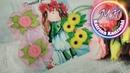 Мини украшения для самых маленьких из тесьмы Зиг Заг/Mini decoração para os mais pequenos a partir .