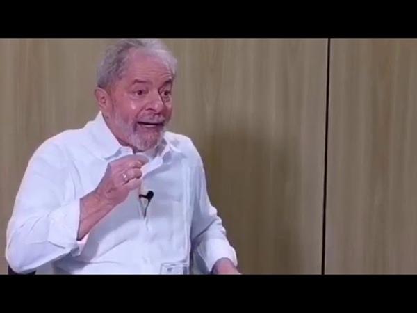 Lula fala à Fórum Moro e Dallagnol são chefes de quadrilha
