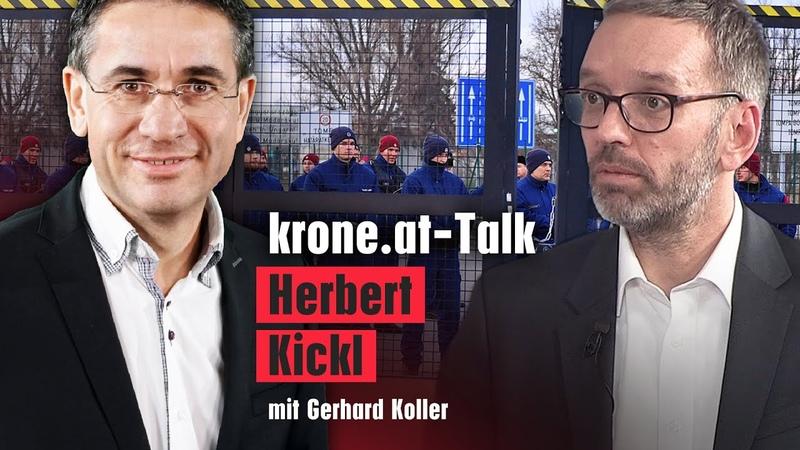"""Kickl """"Müssen es wie Ungarn an serbischer Grenze machen News Talk"""