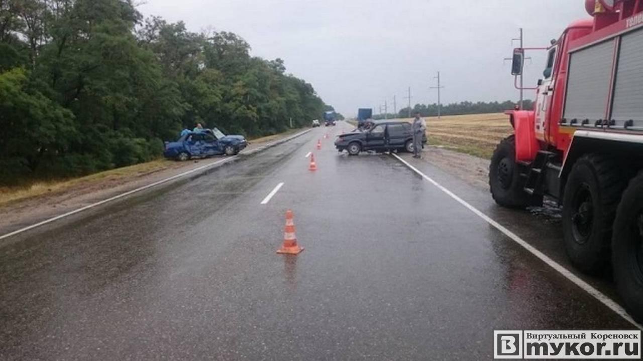 ДТП 11 июля на трассе Кореновск-Тимашевск фото