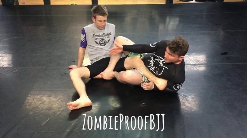 Taza Foot, Cummings Butterfly Inside Triangle HeelHook Foot Positions - ZombieProofBJJ (NoGi)