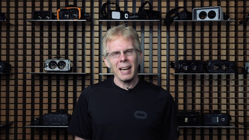 John Carmack Accenture VR Lifetime Achievement Award