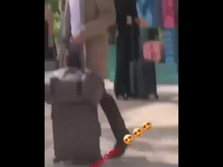 Джейми Дорнан в перерыве между съёмками в Канкуне (Мексика)