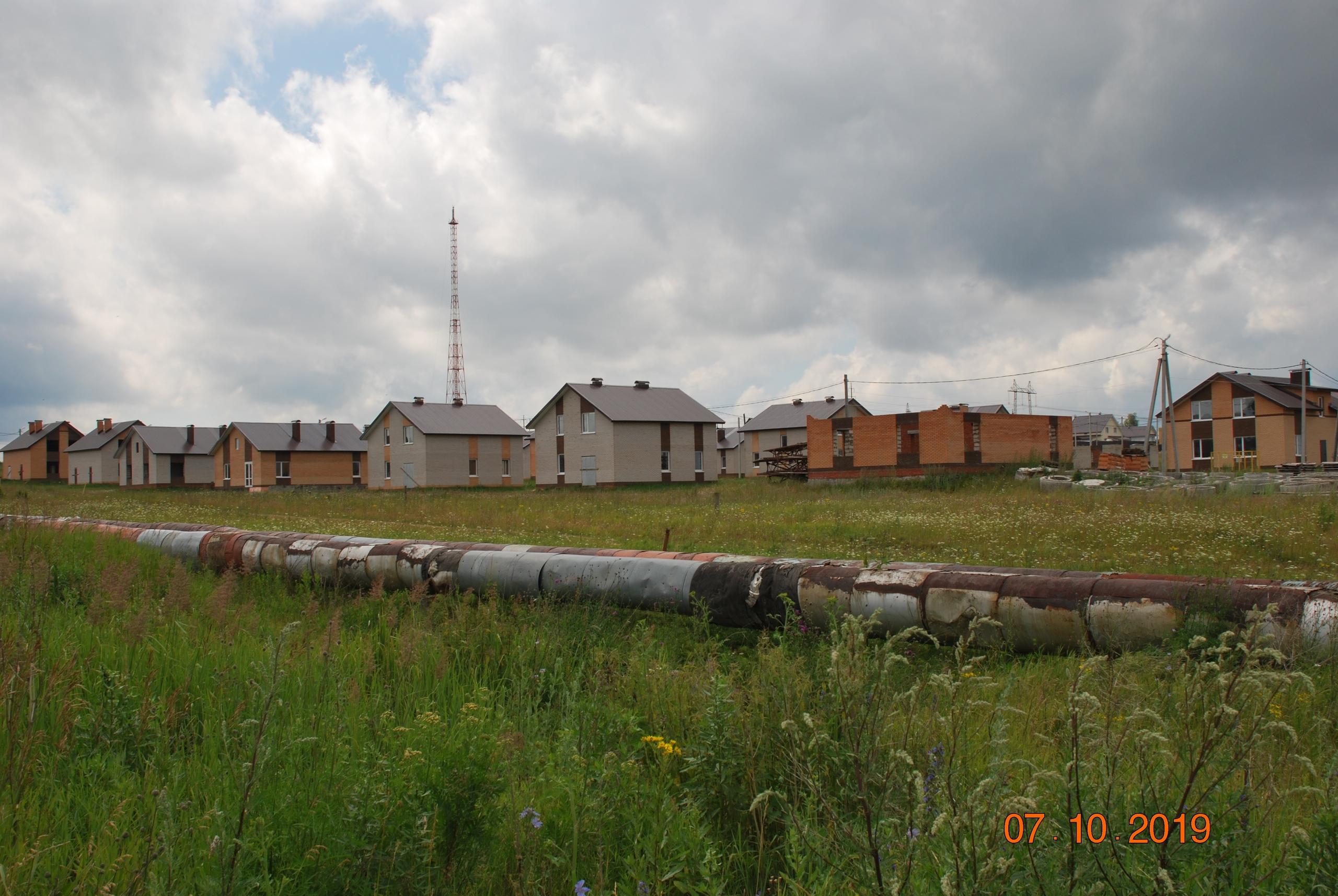 комплексаная застройка, чайковский район, 2019 год