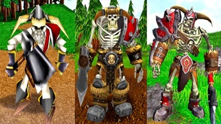 Warcraft III Reforged: Neutral Units (Turtles+Hydra+Crabs+Lobster) Part 5 Comparison (2002 VS 2020)