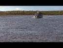 Соболь 4х4 преодолевает брод в Якутии