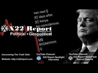 X22 Report vom  - Iran und Kenia rücken in den Fokus, Marker gesetzt