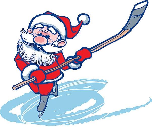 Хоккейные поздравления с новым годом картинки