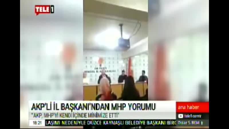 AKP MHPYİ MİNİMİZE ETTİ 15 1 2020 ÇRŞ
