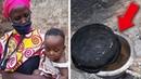 Вдова кормила восьмерых детей супом из камней. Невероятно, но это правда!
