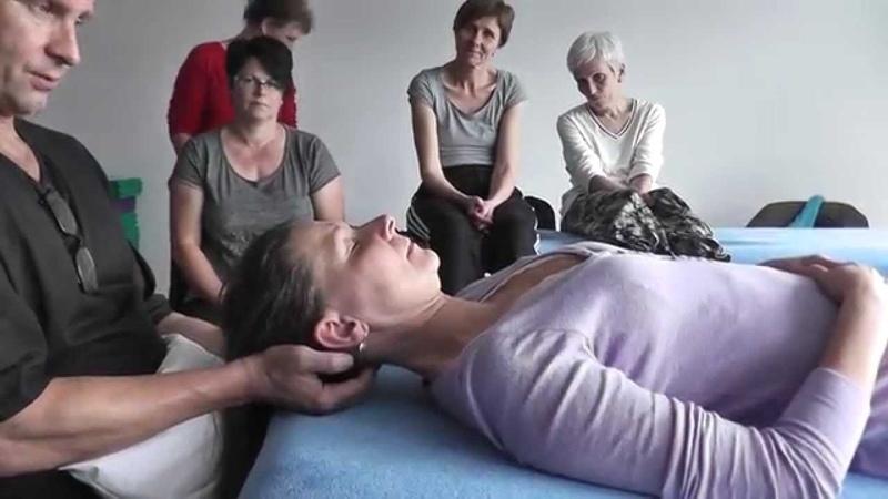 Auszug Behandlung von Migräne, zervikaler Kopfschmerz, Spannungskopfschmerz nach Ulf Pape - YouTube