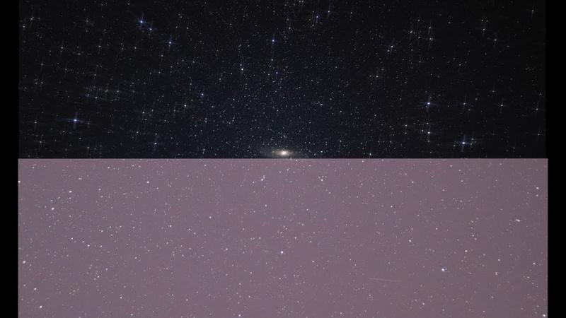 Обработка Астрофотографии: Андромеда. Speed Art.