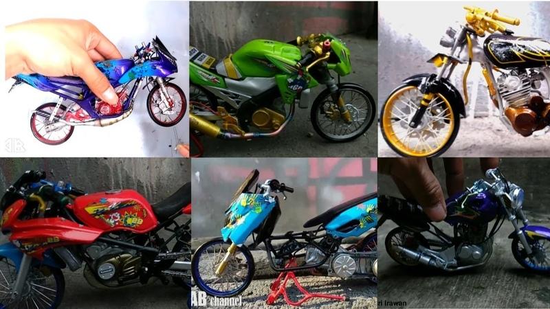 6 Miniatur Motor Kontes keren By Andri DIY