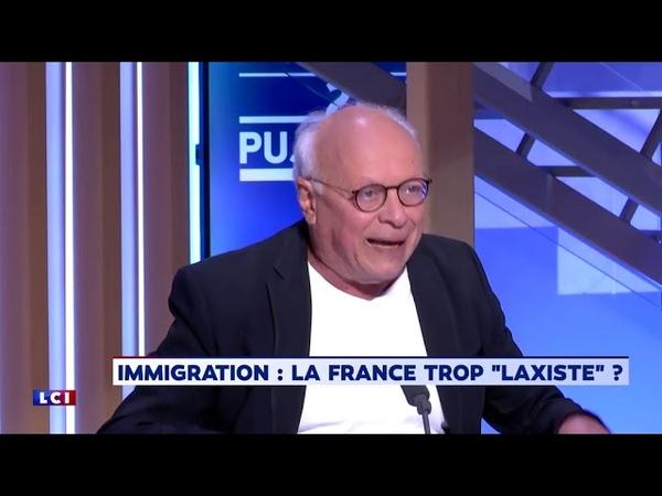 André Bercoff s'enflamme sur LCI en parlant d'immigration
