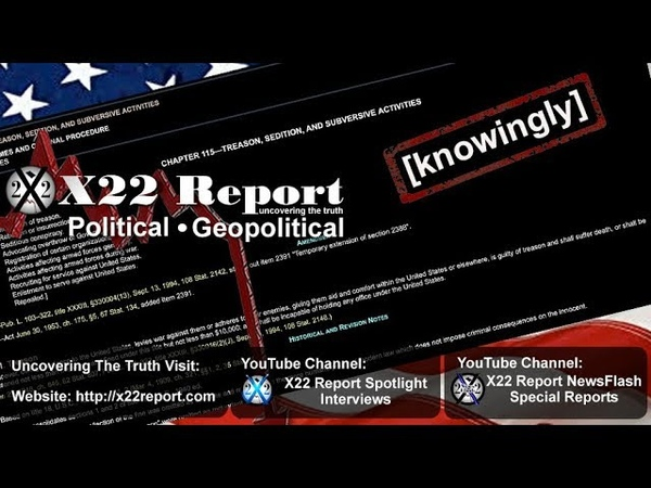 Knowingly Treason Sedition Flagsout Episode 1828b