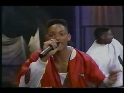 DJ Jazzy Jeff and The Fresh Prince back in 1989 Live on The Arsenio Hall show