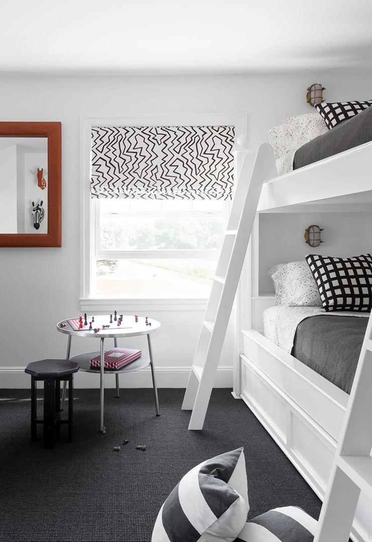 Расслабляющий загородный отдых в черно-белом цвете на Лонг-Айленде