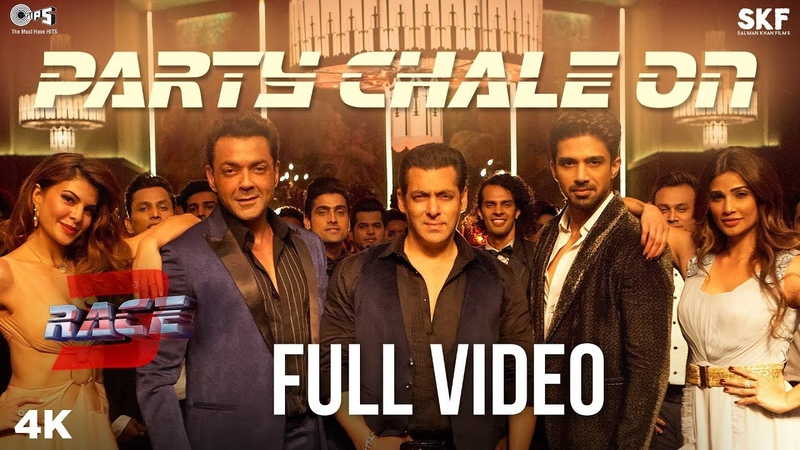 Party Chale On Full Song Video Race 3 Salman Khan Mika Singh Iulia Vantur Vicky Hardik