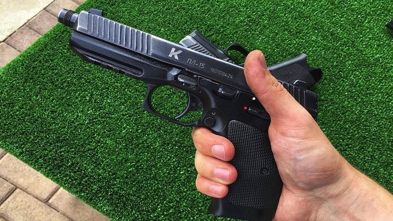 ПЛ-15 — Новый пистолет Армии России и ФСБ. Замена привычного Макарова?