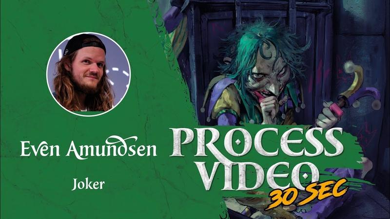 Digital Speed Paint: Joker Fan Art Fantasy Art