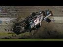 NASCAR Restart Crashes