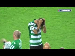Bruno fernandes farewell in his last match for sporting mufc -.mp4