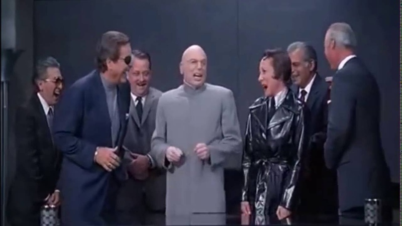 Dr Evil's Laughing Scene [HD]