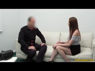 [FakeAgent] Mishelle Klein - Redhead loves to suck cock NewPorn2020