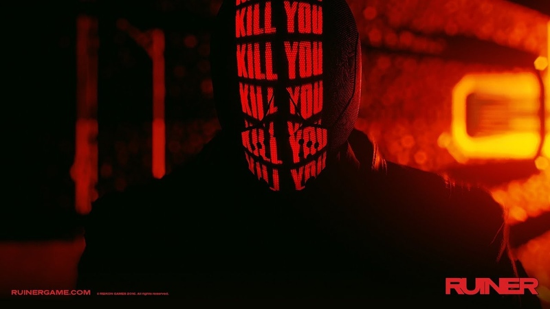 Ruiner interview Devolver's top down action game set in a gritty futuristic Bangkok
