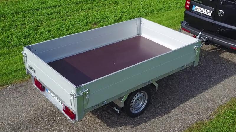 Serie PL- E Plattform-Anhänger Einachser von SIGG Fahrzeugbau