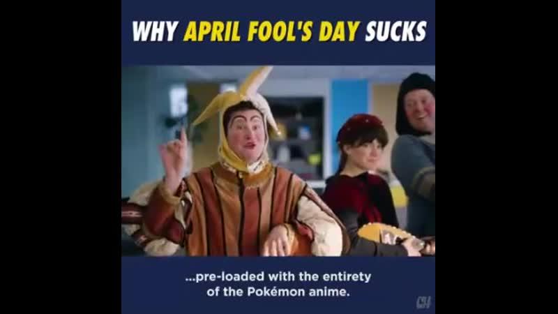 Why april fools day sucks