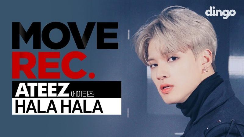 ATEEZ 에이티즈 HALA HALA Performance video 4K MOVE REC