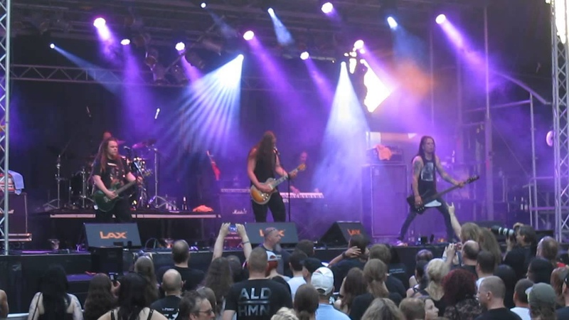 Poisonblack - Scars *live* @ Castle Rock Festival, Mülheim an der Ruhr, 03.07.2015