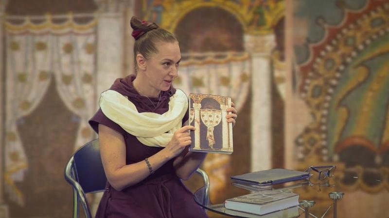 Прекрасная Юлия Матвеева о храмовых завесах и своем вышивальном творчестве на украинском языке