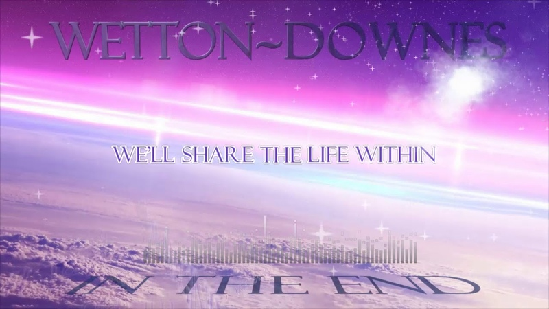 John Wetton Geoffrey Downes In The End Lyric video
