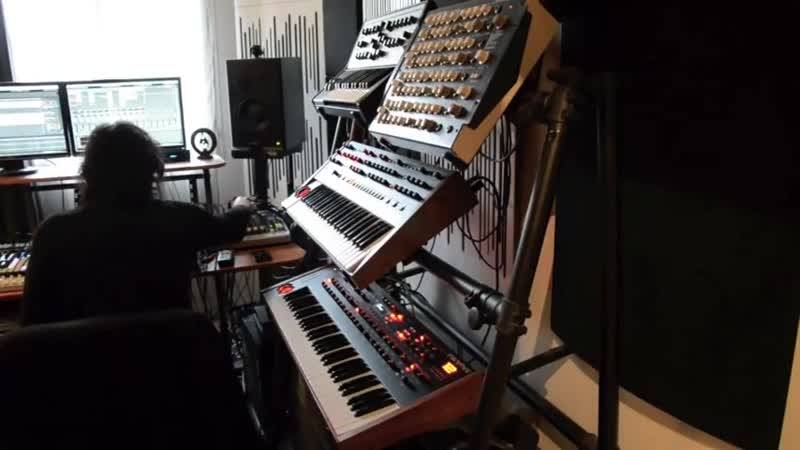 Morning Session Dub Techno Jam (SpaceEcho Prophet6 Tempest Octatrack Perfourmer Strymon)