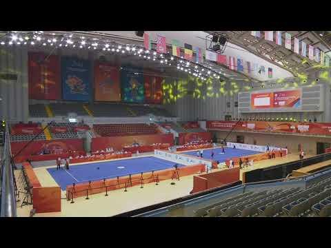 15th World Wushu Championships – Taolu – Day 1 – Morning Session – M Daoshu