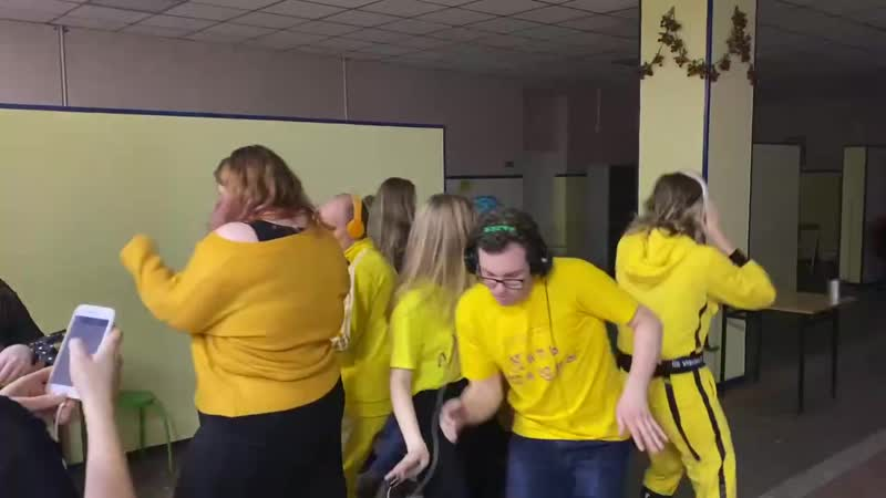 Перфо танцы Эспады на конкурсе PRO вожатый