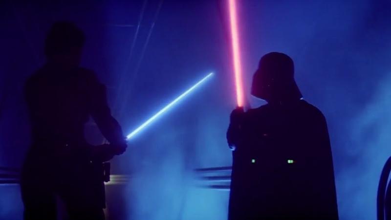 Luke Vader's Duel On Cloud City 1080p