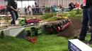 Rc Truck Action Extrem Scania R730 12x12 and Fendt 1050 and Crash Aigner Transporte Spezial Part 1