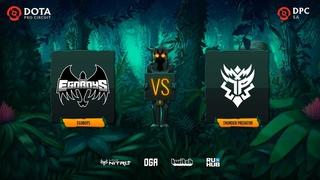 EGOBOYS vs Thunder Predator, Dota Pro Circuit 2021: S1 - SA, bo3, game 2 [Lex & 4ce]