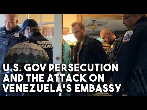 Max Blumenthal on his false arrest US gov't persecution and the takeover of Venezuela's embassy