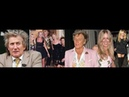 Rod Stewart Poses with four Mothers of seven of His Children at Daughter Kimberly's Birthday Party