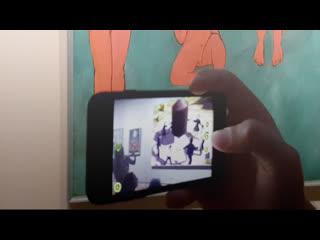Цифровые художники повесили в Эрмитаже свои картины  в виртуальной реальности.