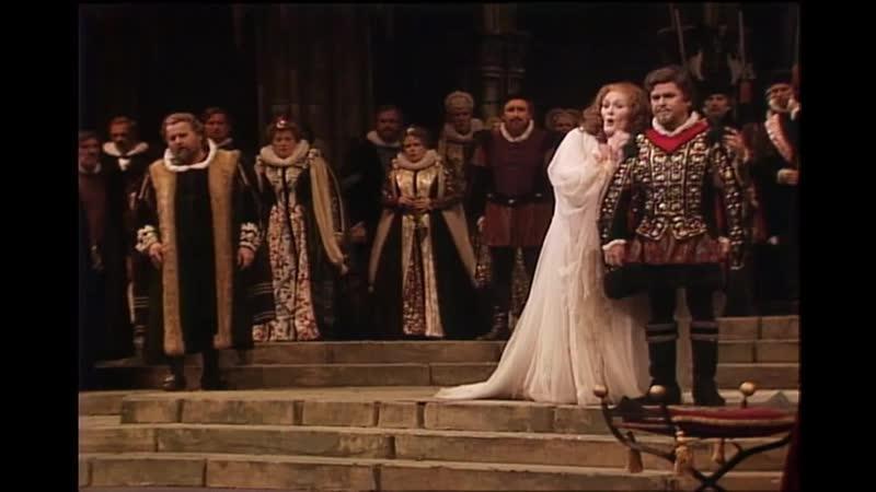 Gaetano Donizetti Lucia di Lammermoor Лючия ди Ламмермур Нью Йорк 1982