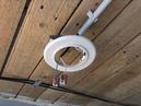 Электромонтаж точечных светильников в деревянных домах.