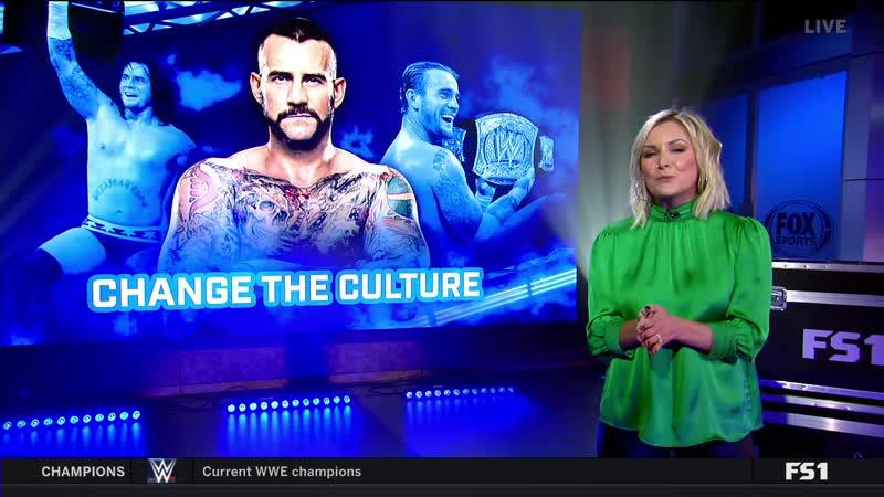 СМ Панк на шоу WWE Backstage часть 2