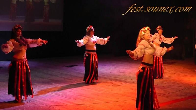Ukraine Ethno Dance Festival Живая вода Украинский трабл. Чернигов 2014