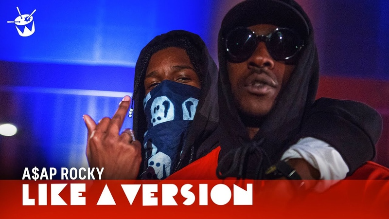 A$AP Rocky - Praise The Lord (Da Shine) Ft. Skepta (live for Like A Version)